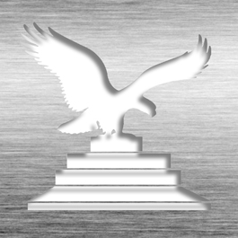 Patent Plaque - 10th Patent Grant - Black Glass BG10-EG15M