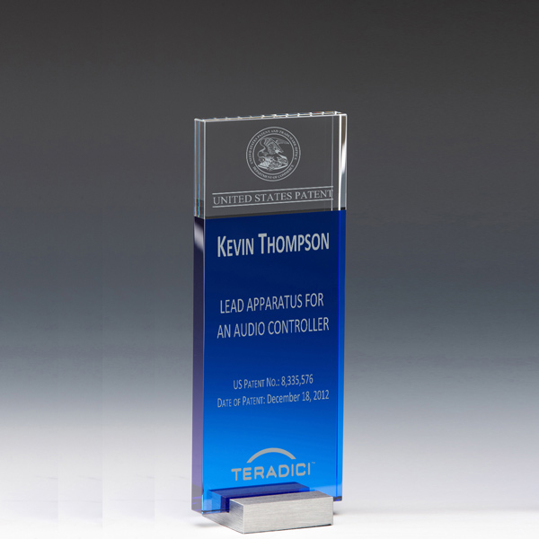 Patent Award - Optical Crystal InnoTower CP7784