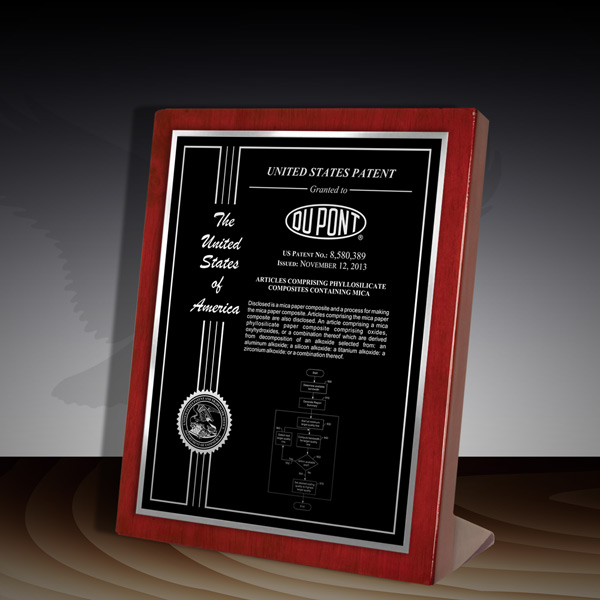Patent Award - Rosewood Piano Desk RP-79BS