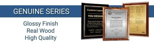 Genuine Patent Plaque Series