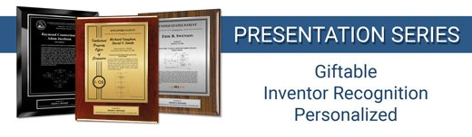 Presentation Patent Plaque Series